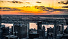 New York-New Jersey Winter Sunset (LJS74) Tags: newyorkcity nyc topoftherock hudsonriver newyork newjersey sunset filmeffect cityscape clouds midtown city sky winter