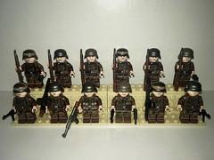 TMC Dot44 Collection (Wehrabricks) Tags: german erbsenmuster dot44 camo lego wwii minifig