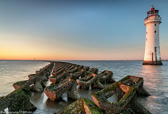 Perch Rock Lighthouse-4 (andyyoung37) Tags: perchrock perchrocklighthouse uk goldenhour sunset thewirral
