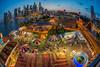Fun ! Amusement Park (BP Chua) Tags: amusementpark amusement colours landscape city cityscape fisheye bluehour sunset nikon d800e riverhongbao 春到河畔