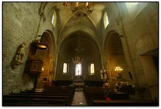 Église abbatiale, Abbaye Saint-Hilaire (Aude, France)