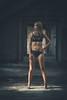 Laure (www.michelconrad.fr) Tags: bleu rouge canon eos6d eos 6d ef24105mmf4lisusm 24105mm 24105 femme modele portrait studio noir lingerie pose robe grafiti murs ancien batiment fenetre blanc usine