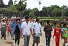 Tourists 2 - Angkor Wat (Cambodia) (ID Hearn Mackinnon) Tags: tourism tourist angkor wat cambodia cambodian kampuchea south east asia asian ruins ancient 2017 people