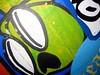 sleepest thou? (Quetzalcoatl002) Tags: graffity graffiti macro amsterdam sleepy