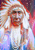 Crazy Horse (ICARUSISMARTDESIGNS) Tags: portrait trendy vintage fantasy contemporary retro cool pattern american indian chief native sioux buffalo inspirational dream magic art famous color freedom warrior red tribe holy man dance music poster phones canvas present gift blue abstract new white sunset flowers sky bright geek nature landscape artist fractal modern artistic graphic vivid creative unique colorful popular