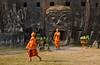 Laos- Buddha park- Vientiane (venturidonatella) Tags: laos asia vientiane buddha buddhapark park monks monaci orange arancione persone people nikon d300 nikond300