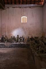 IMGP8598 Phu Hai Prison (Claudio e Lucia Images around the world) Tags: phuhai prison jail frenchprison americanprison pentax vietnam americanwar vietnamwar frenchdomination strada pentaxk3ii sigma sigma1020 prisoner inmate