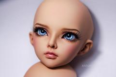 Fairyland Minifee Mirwen tan (AnnaZu) Tags: annaku annazu faceup bjd makeup abjd balljointed mininfee mirwen tan doll repaint fairyland commission