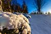 """Pink Floyd"" (grahamrobb888) Tags: snow d800 nikon nikond800 nikkor nikkor20mmf18 perspective perthshire pathway bluesky blue cokin"