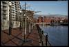 Walking By NV (jason_hindle) Tags: nvbuildings bridge captureone detroitbridge manchester salfordquays salford sonya7ii sonyfe50mmf18 unitedkingdom greatermanchester