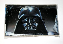 star wars the force awakens tablecover table cloth with darth vader stormtrooper and tie fighter print by camscan australia 2016 2017 misb b (tjparkside) Tags: star wars tablecloth force awakens episode 7 seven vii kylo ren lightsaber crossguard table cover 18 13 metres camscan australia 812577 disney darth vader stormtrooper stormtroopers blaster rifle weapon tie fighter fighters cloth tablecover with print by 2016 2017 misb misp