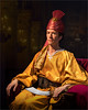 Young Man as a Rajah (Repp1) Tags: richard younmanseries sultan rajah turban robe robedecérémonie sabre saber gold dor man homme seated assise