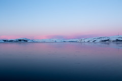 Kirkenes (morten f) Tags: kirkenes norge norway nature mountains fjell solnedgang sunset pink rosa north nord snø snow winter vinter cold kaldt