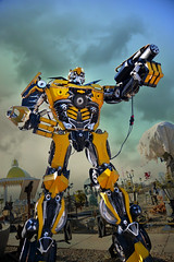 Bumblebee Transformer (PentlandPirate of the North) Tags: britishironworks oswestry shropshire bumblebeetransformer steel iron bits transformers robots ~flickrinnes flickrinnes