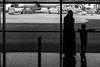 """We are such stuff as dreams are made on"" (Özgür Gürgey) Tags: 2017 50mm atatürkairport bw d750 nikon shakespeare airport architecture frame geometry grainy people reflection silhouette street istanbul twogether smileonsaturday"