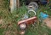 Abandoned Radio Flyer (ricko) Tags: wagon radioflyer tricycle tires junk wheels