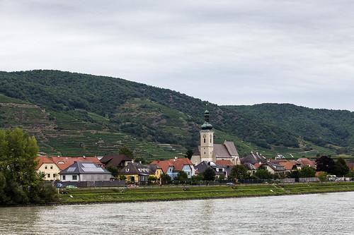 Unterloiben Village and the Parish Church - Pfarrkirche 4257