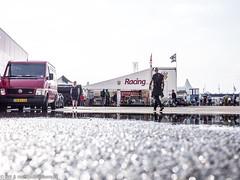 2017 Zandvoort Historic GP: Snetterton Speedshop (8w6thgear) Tags: zandvoort historic gp grandprix 2017 paddock snettertonspeedshop puddle awning