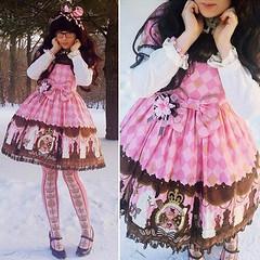 Angelic Pretty - Chess Chocolate (PrincessBufo) Tags: lolita angelicpretty kawaii kawaiifashion sweetlolita