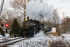 NH&I 40 @ New Hope, PA (Dan A. Davis) Tags: nhi newhopeivyland newhopeivylandrailroad nhi40 steamlocomotive 280 railroad passengertrain train newhope lahaska pa pennsylvania buckscounty