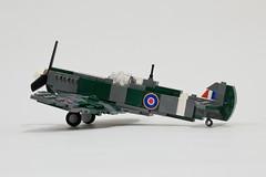 Supermarine Spitfire Mk V update (3) (Dornbi) Tags: lego fighter supermarine spitfire mkvb wwii