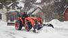 Snow removal (citrusjig) Tags: fuji xe1 tamronspadaptall23580mmf283801a scott kubota snow removal tractor dailyinmarch2018 pentaxforums