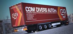 [DOWNLOAD] COM DIVERS AUTO Profiliner Skin [ETS2] (gripshotz) Tags: download skin com divers auto romania trailer profiliner krone euro truck simulator ets 2 mod