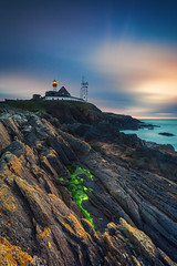 Lever du jour sur la pointe Finistere ... (Ludovic Lagadec) Tags: finistere sunrise bretagne brittany lighthouse longexposure ludoviclagadec landscape phare pointesaintmathieu morning