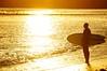 Sunset Surfer (Kramskorner) Tags: sunset surf surfer beach surfboard pacific ocean solitude santa monica venice malibu california laguna silhouette