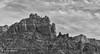 Camel and Snoopy rock (craig lefebvre) Tags: autofocus sedona arizona lefebvre blackandwhite snoopyrock camelrock mood