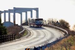 EYMS 385 YX14 HDZ A614 Double Bridges Thorne to Goole 25th January 2018 (1) (asdofdsa) Tags: eastyorkshiremotorservices 88service goole thorne bus transport bridge river a614 selbyroad eyms yx14hdz 385