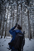 HM2A7518 (ax.stoll) Tags: feldberg frankfurt taunus mountain forest snow winter winterwonderland outdoor nature dog hovawart trees street wanderlust travel