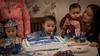 The happy birthday cake. (kuntheaprum) Tags: caitlin birthday nikon d750 samyang 85mm f14 baby family portrait frozen