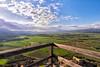 The green valley (Fabrizio Contu) Tags: sardegna campidano cagliari castellodiacquafredda landscape panorama pano green valley nature mountain clouds sky field fujifilmxt10 samyang12mm