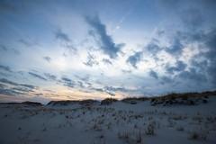 island beach (primemundo) Tags: dunes beach sunset dunegrass clouds sky islandbeach