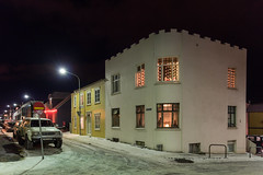 Streets of Reykjavik, Iceland (George Pachantouris) Tags: iceland north arctic cold winter snow white ice frozen freeze reykjavik nordics