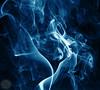 Blue Smoke (raphaelmeier) Tags: blue smoke rauch candle kerze