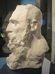 Buste de Auguste Rodin (1888), Camille Claudel - Musée Sainte-Croix, Poitiers (86) (Yvette G.) Tags: augusterodin camilleclaudel buste poitiers vienne 86 muséesaintecroix musée poitoucharentes nouvelleaquitaine sculpture