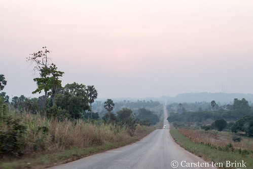 The route to Techiman