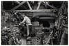 Inside the blacksmiths shop... (zapperthesnapper) Tags: stfagans blacksmiths blackandwhite monochromatic monochrome mono wales museum sonyrx10 sonyimages sonycybershot sony