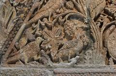 Facade of Qasr Mshatta, Umayyad, 8th cent.; Pergamon Museum, Berlin (15) (Prof. Mortel) Tags: germany berlin pergamonmuseum islamic umayyad mshatta