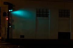 Day 359 - Christmas spirit (cframezelle) Tags: book2017 contrast dark green light night 35mm prime pentax nocturnal city street urban