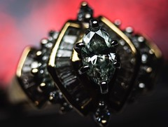 Precious...HMM ! (Robert...P/OFF) Tags: macromondays lessthananinch ring diamond precious stone