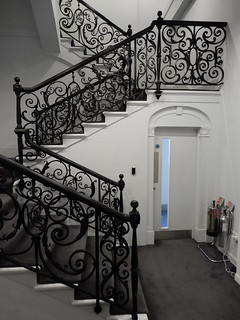 Christie's Auction House: staircase