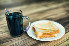 Geylang Bahru Breakfast (Jon Siegel) Tags: nikon nikkor d750 50mm 12 50mmf12ais 50mm12 coffee kopi toast kaya butter kayabuttertoast breakfast food dining hawkercentre morning singapore singaporean culture kopiokosong
