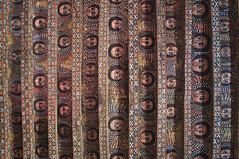 Ceiling of the Debre Birhan Selassie Church with the faces of 135 cherubs - Gondar, Ethiopia (Julian Becherer) Tags: cherubs painting church gondar ethiopia
