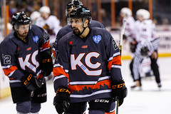 "Kansas City Mavericks vs. Indy Fuel, February 17, 2018, Silverstein Eye Centers Arena, Independence, Missouri.  Photo: © John Howe / Howe Creative Photography, all rights reserved 2018 • <a style=""font-size:0.8em;"" href=""http://www.flickr.com/photos/134016632@N02/39676657304/"" target=""_blank"">View on Flickr</a>"