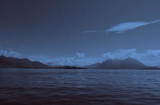 le lac majeur vu du chateau