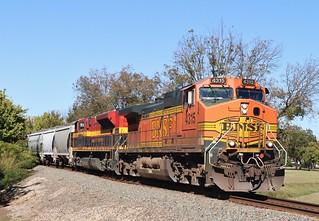 BNSF 4315 in Gainesville Texas