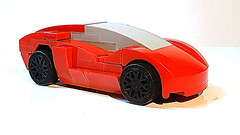 How to Build the Lamborghini (Update Version - 4K) (hajdekr) Tags: lambo lamborghini lamborghinimoc moc myowncreation small easy simple basic toy vehicle car automobile 4stud four 4x4 race racer racing sport sportscar speed champion champs red fast howto manual tuto tutorial assemblyinstruction instructions guide buildingguide help tip design 5studs designed designer
